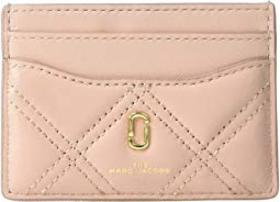 Marc Jacobs The Quilted Softshot Card Case