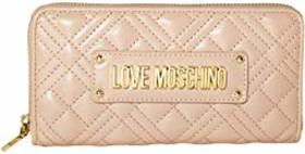LOVE Moschino Quilted Checkbook Wallet