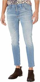 DSQUARED2 Light Dusty Skater Jeans in Blue