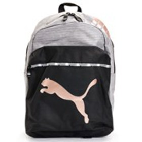 PUMA Girls Logo Graphic Color Block Backpack