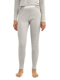 Hanes Women's X-Temp Thermal Waffle Pant with Fres