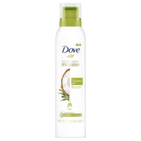 Dove With Coconut Oil Body Wash Mousse