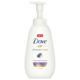 Dove Purely Pampering Relaxing Lavender Shower Foa