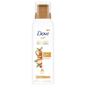 Dove with Argan Oil Body Wash Mousse