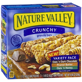 Nature Valley Crunchy Granola Bars Oats 'n Dark Ch