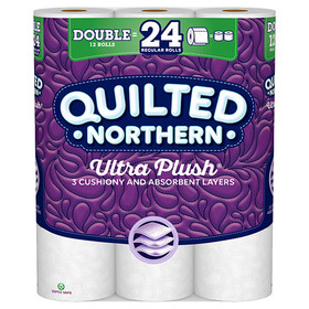 Quilted Northern Ultra Toilet Paper, Double Chimne