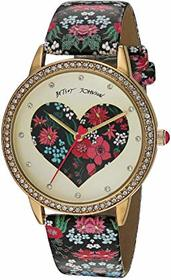 Betsey Johnson Cut Out Graphic Heart - 37259144GLD