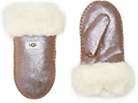 UGG Kids Suede Mitten with Sherpa Lining (Toddler/