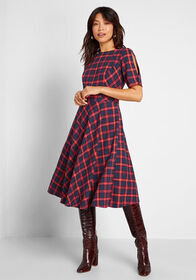Royal Monk Royal Monk Make the Upgrade Plaid A-Lin