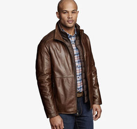 Johnston Murphy Leather Jacket