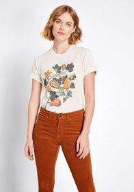 That's a Gourd Look Graphic Tee Ivory Pumpkins