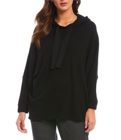 b new york Textured Brushed Knit 3/4 Sleeve Easy H