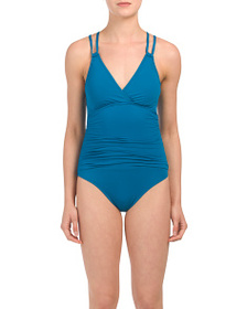 reveal designer Island Goddess Crossback One-piece