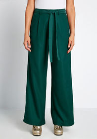 ModCloth ModCloth The Savannah Wide-Leg Pants Hunt