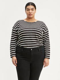Levi's Cora Sailor Tee (Plus Size)