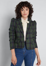 ModCloth ModCloth Know Your Worth Cropped Blazer G