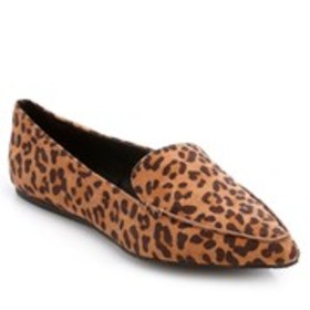 ESPRIT Esprit Blaire Womens Leopard Pointed Moc To