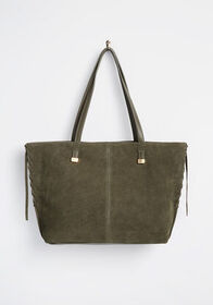 Whatever Floats Your Tote Bag Olive Green