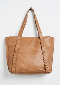A Minor Detail Tote Bag Brown