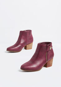 Gait Things Done Ankle Boot Burgundy