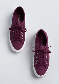 Superga Superga Be a Good Sport Sneaker Burgundy