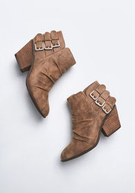 Report Footwear This is My Stomp Bootie in Taupe