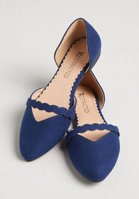Restricted Restricted The Sweetest Step Flat Navy