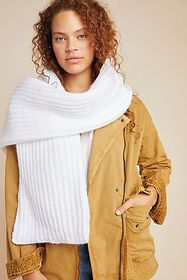 Anthropologie Marley Puffer Scarf