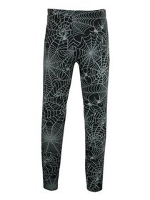 Just One Halloween Spider Web Print Leggings (Wome