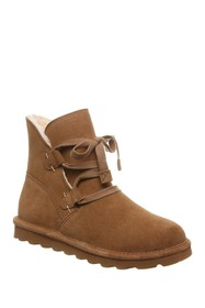 BEARPAW Zora Suede Ankle Boot