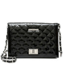 Rampage quilted patent pu crossbody