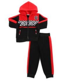 Enyce 2 pc jogger set (2t-4t)