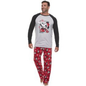 Big & Tall Disney's Mickey Mouse Top & Bottoms Paj