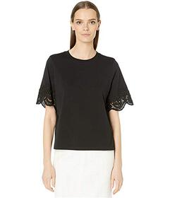 See by Chloe Lacy Short Sleeved Top