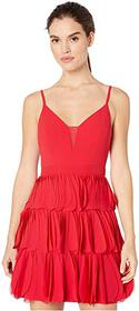 BCBGMAXAZRIA Eve Short Woven Dress