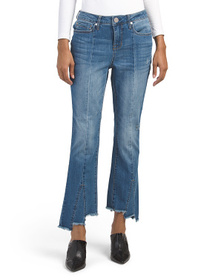 SEVEN7 Mid Rise Flare Jeans