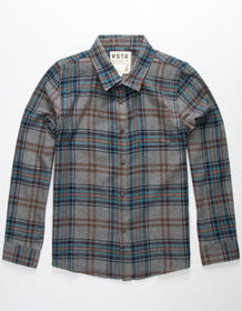 VSTR Ghost Town Boys Flannel Shirt_