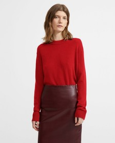 Cashmere Relaxed Crewneck Sweater