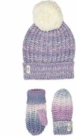 UGG Kids Spacedye Knit Hat and Mitten Set (Toddler