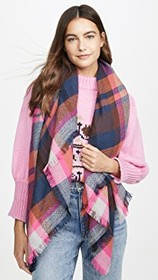 Hat Attack Jewel Plaid Scarf