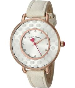 Betsey Johnson Subtle and Sleek Watch - 37217395WH