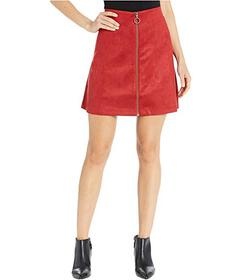Jones New York Faux Suede Skirt
