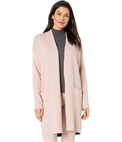 Jones New York Plaited Sweater Coat