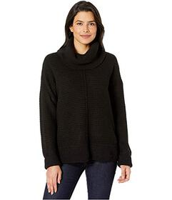 Jones New York Long Sleeve Mix Stitch Cowl Neck Sw