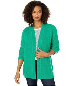 Jones New York Open Front Cable Cardigan