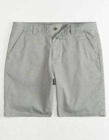 CHARLES AND A HALF Lincoln Stretch Grey Mens Short