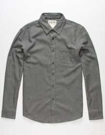 VSTR Solid State Mens Flannel Shirt_