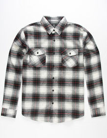 SHOUTHOUSE Del Ray Mens Flannel Shirt_
