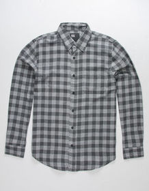 RSQ Check Check Mens Flannel Shirt_