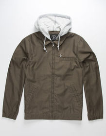 VOLCOM Earl Mens Hooded Jacket_